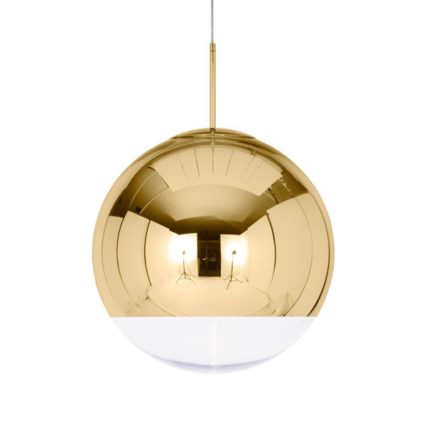 Mirror Ball Gold 50 Pendant by Tom Dixon - Vertigo Home