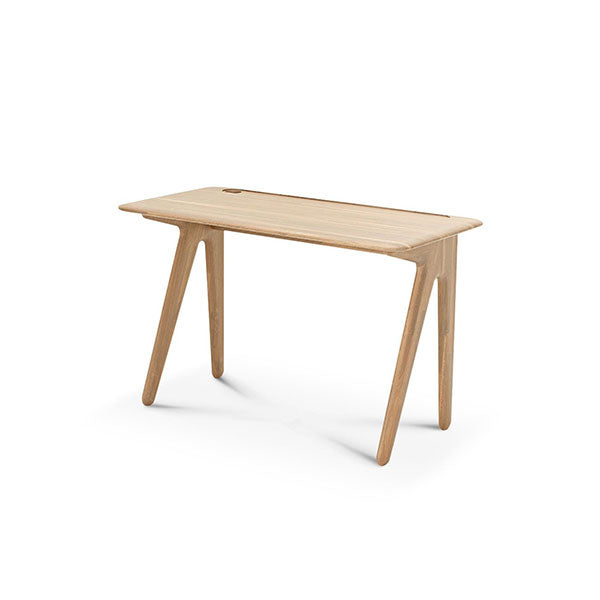 Slab Individual Desk Small Natural Oak by Tom Dixon