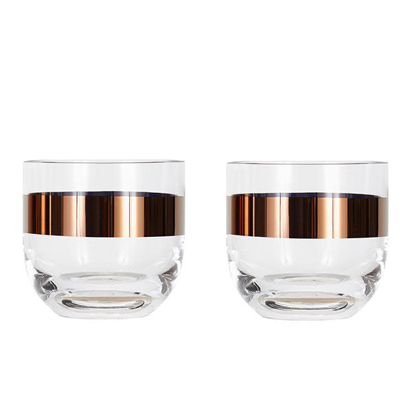 Tank Whiskey Glass Set by Tom Dixon - Vertigo Home