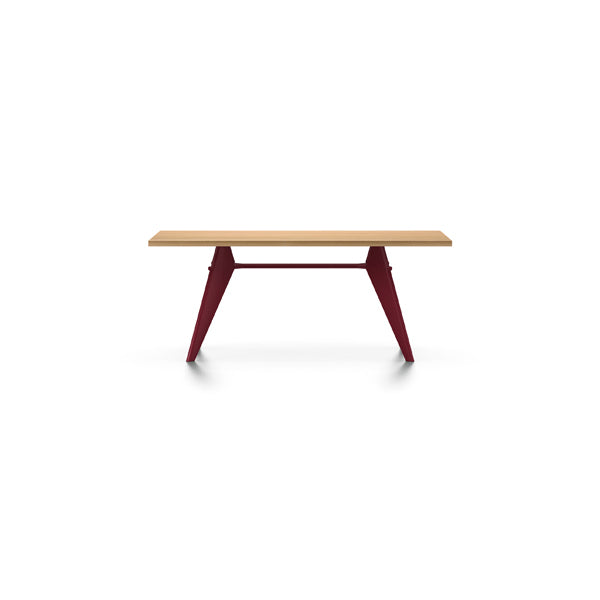 EM Table - Wood - Solid Natural Oak by Jean Prouvé for Vitra
