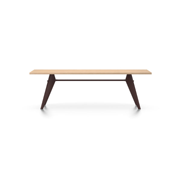 EM Table - Wood - Veneer Natural Oak by Jean Prouvé for Vitra