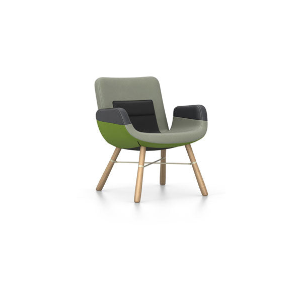 East River Chair Green Mix 04 by Vitra + Hella Jongerius