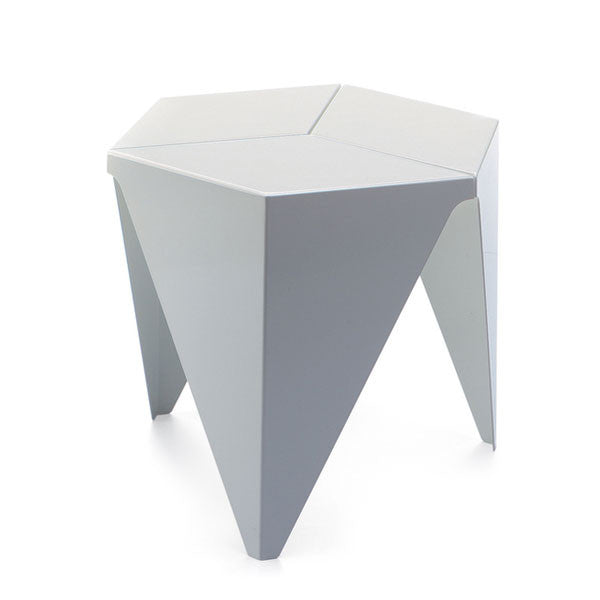 Vitra White Prismatic Table by Isamu Noguchi - Vertigo Home