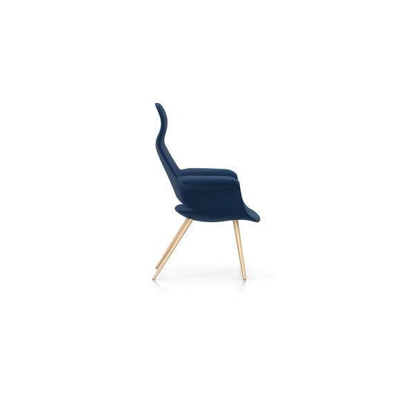 Eames & Saarinen Organic Highback Chair - Cosy 2 Fabric by Vitra