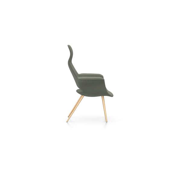 Eames & Saarinen Organic Highback Chair - Credo Fabric by Vitra