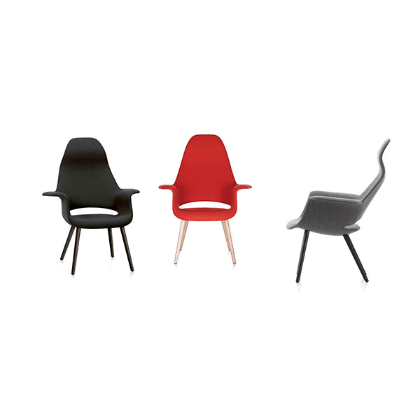 Eames & Saarinen Organic Chair - Tonus Fabric by Vitra