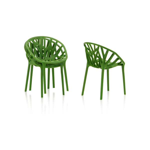 Vitra Miniature Forest Bouroullec Vegetal Chair, Set of 3