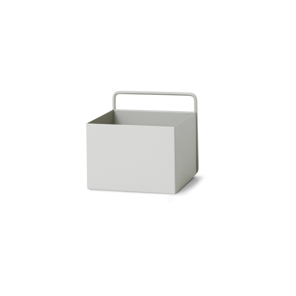 Wall Box Square - Light Grey by Ferm Living