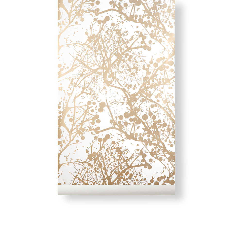 Wilderness Wallpaper - Gold by Ferm Living