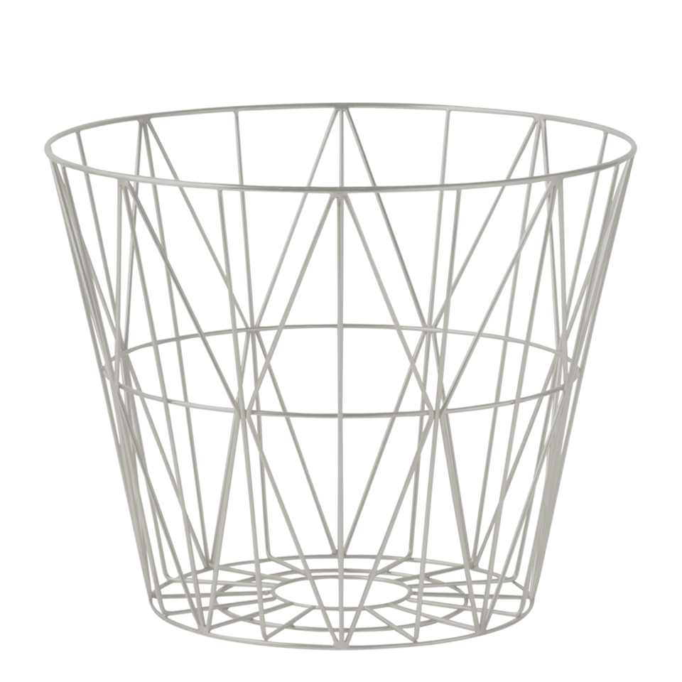 Wire Basket in Grey by Ferm Living