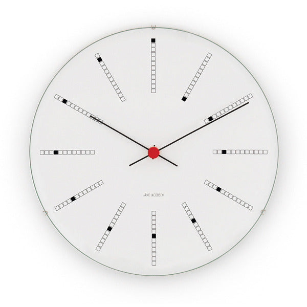 Arne Jacobsen Banker's Clock from Rosendahl - Vertigo Home