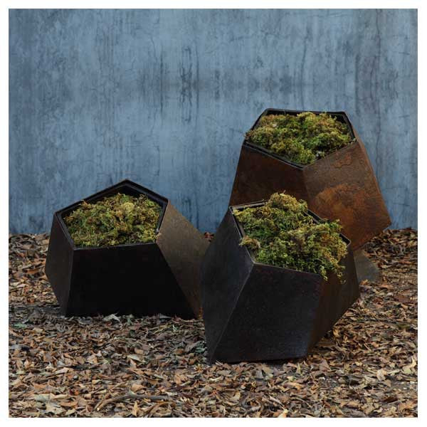 Boulders Floor Planter Small by Jinggoy Buensuceso for Hive at www.vertigohome.us