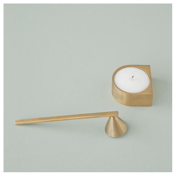 Brass Candle Extinguisher by Ferm Living - Vertigo Home