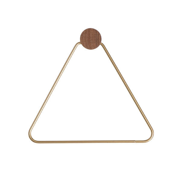 Brass Toilet Paper Holder by Ferm Living - Vertigo Home