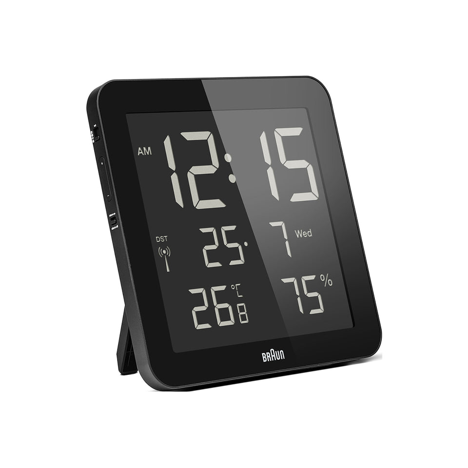 Braun BNC014 RK Digital Clock Black