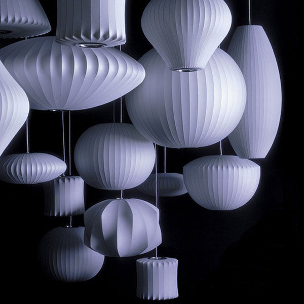 Bubble Lamps - George Nelson - Modernica at www.vertigohome.us