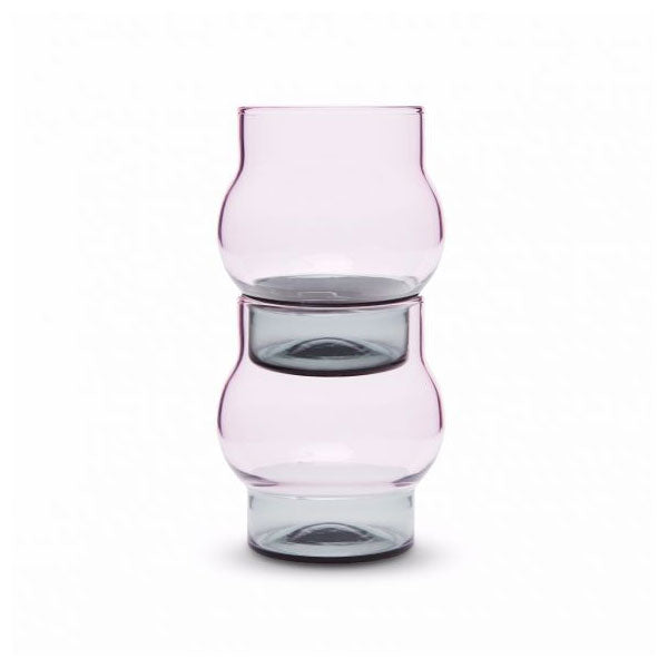 Bump Short Glass Set of 2 by Tom Dixon