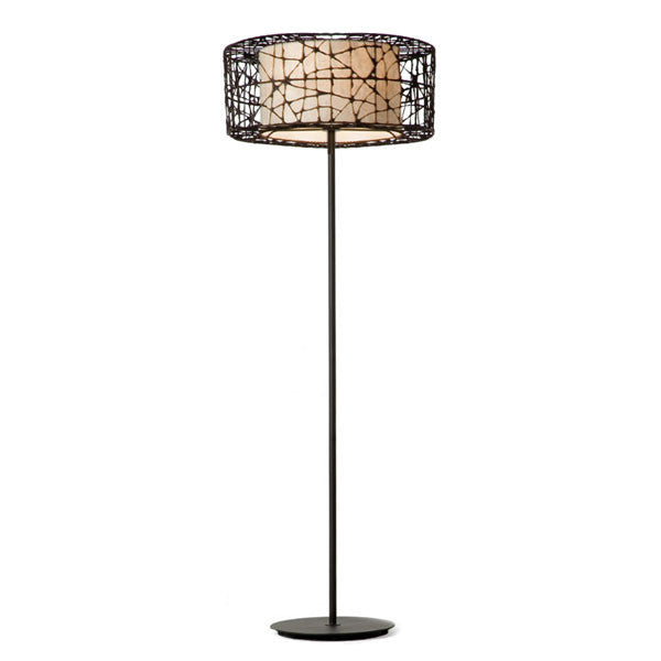 C-U C-Me Round Floor Lamp by Kenneth Cobonpue for Hive - Vertigo Home