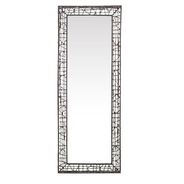 C-U C-Me Rectangular Floor Mirror by Kenneth Cobonpue for Hive - Vertigo Home