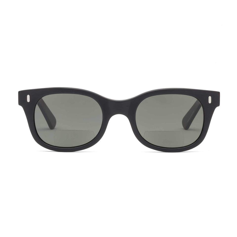 Bixby Matte Black Sun Reading Glasses by Caddis