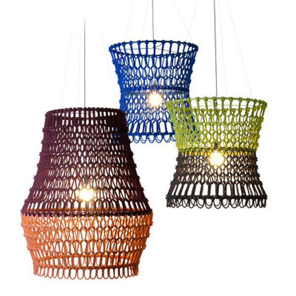 Carousel Hanging Lamps by Kenneth Cobonpue for Hive at www.vertigohome.us