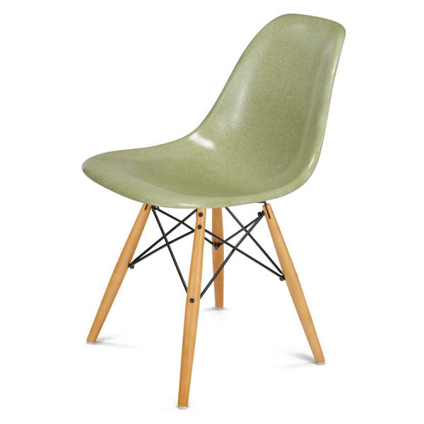 Side Shell Chair w/ Maple + Black Wire Dowel Base by Modernica - Vertigo Home