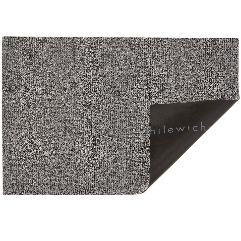Fog Heathered Shag Mat by Chilewich