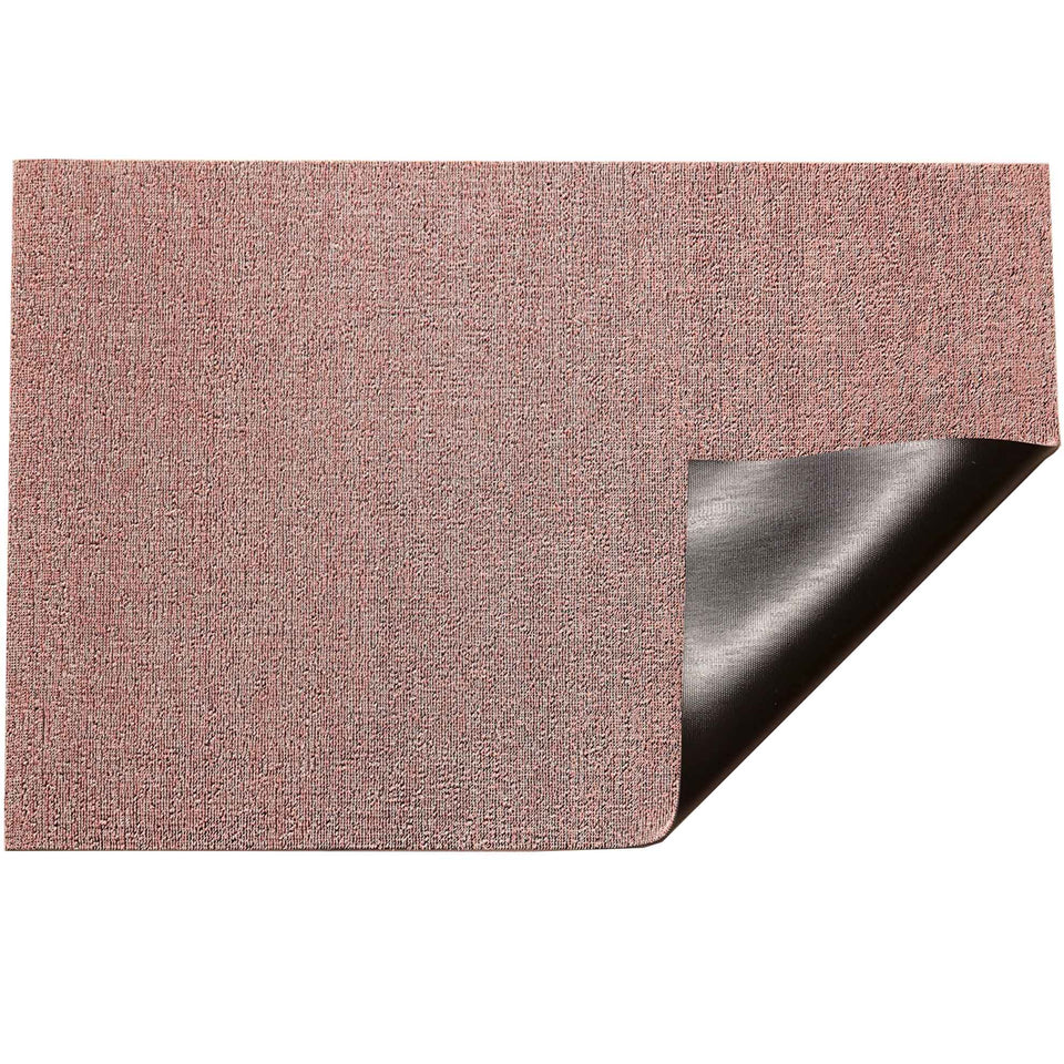 Blush Heathered Shag Mat by Chilewich