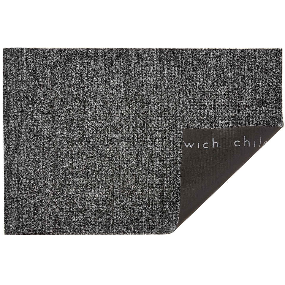 Grey Heathered Shag Mat by Chilewich