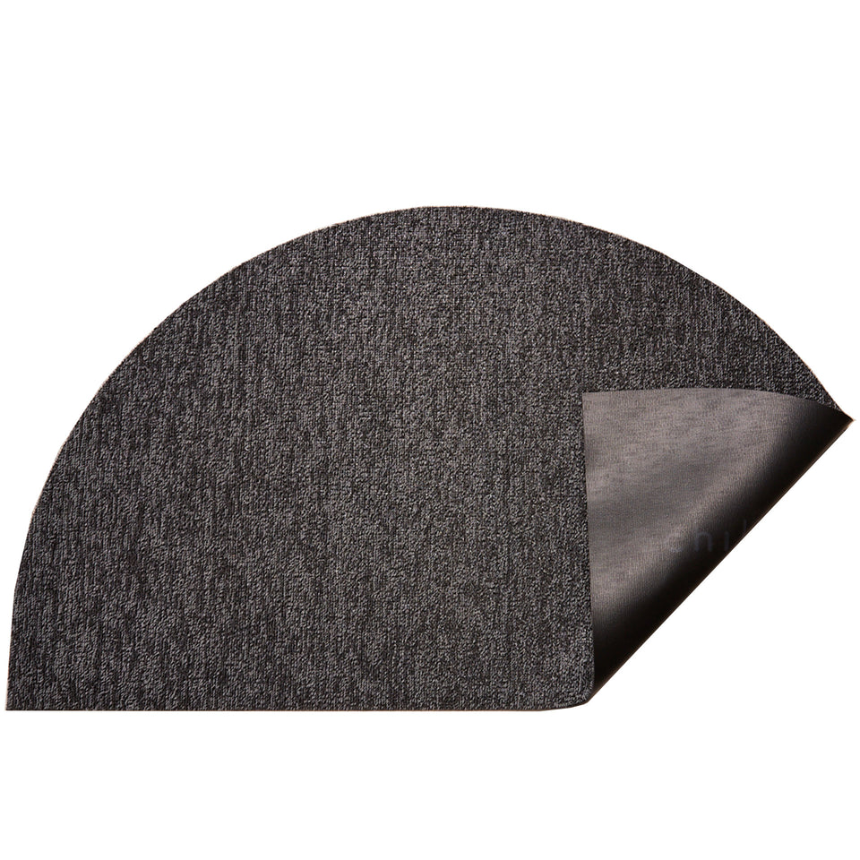 Grey Heathered Welcome Shag Mat by Chilewich