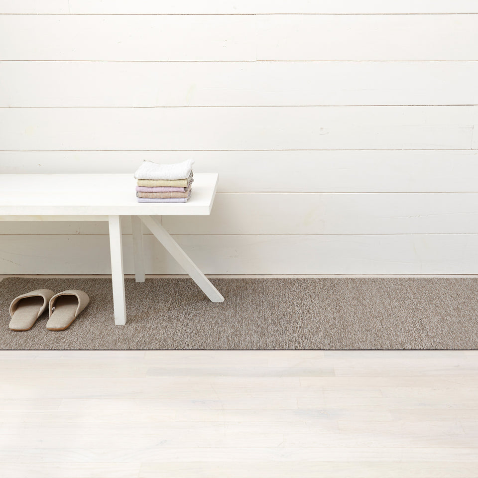 Pebble Heathered Shag Mat by Chilewich
