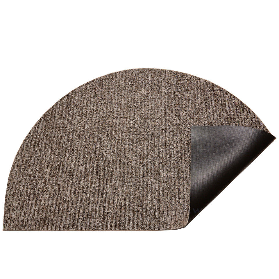 Pebble Heathered Welcome Shag Mat by Chilewich