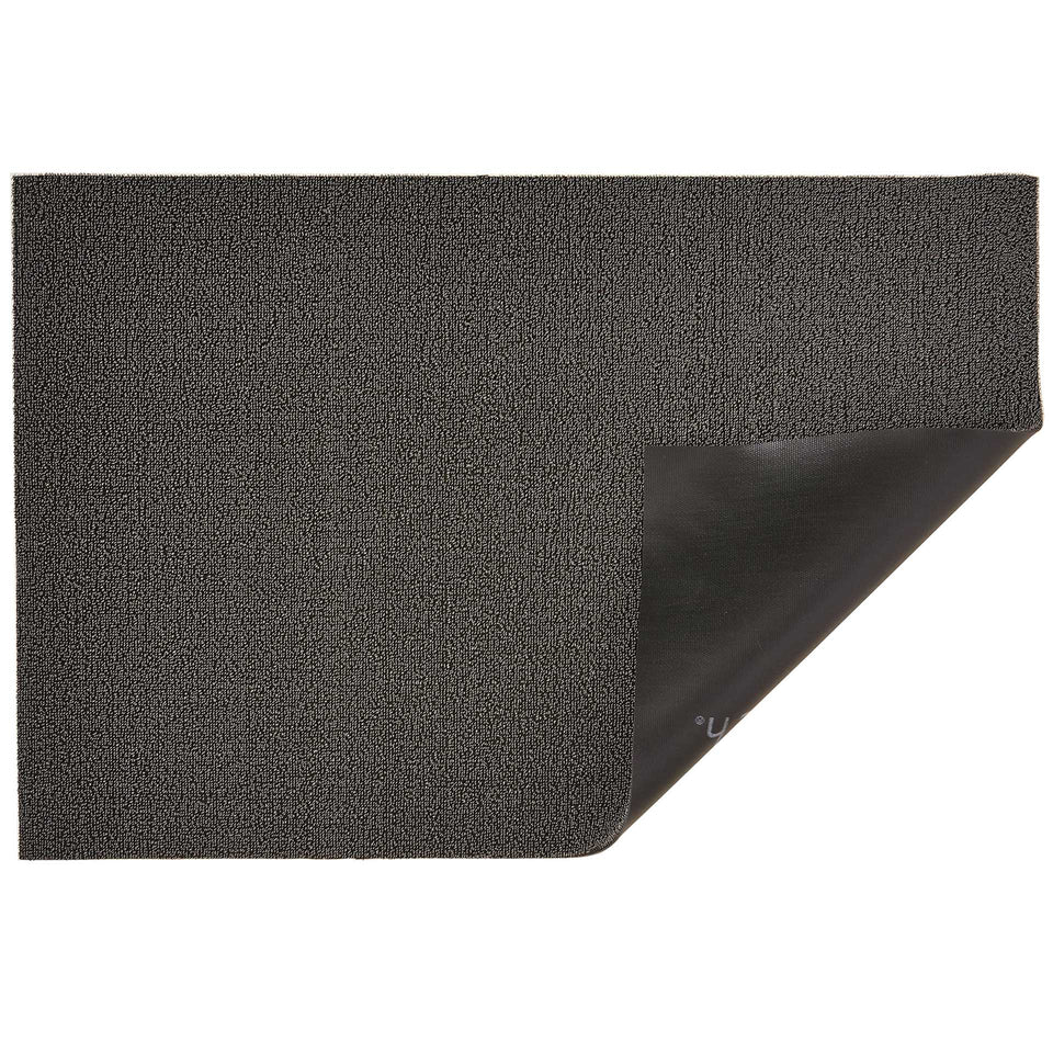 Mercury Solid Shag Mat by Chilewich