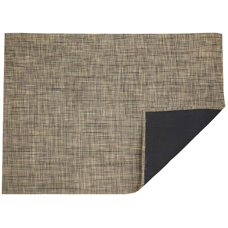 Bark Basketweave Woven Floor Mat by Chilewich