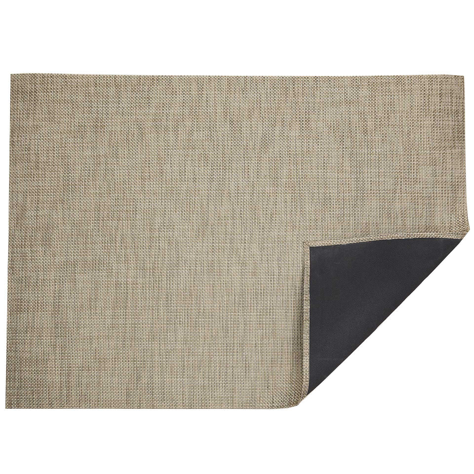 Latte Basketweave Woven Floor Mat by Chilewich