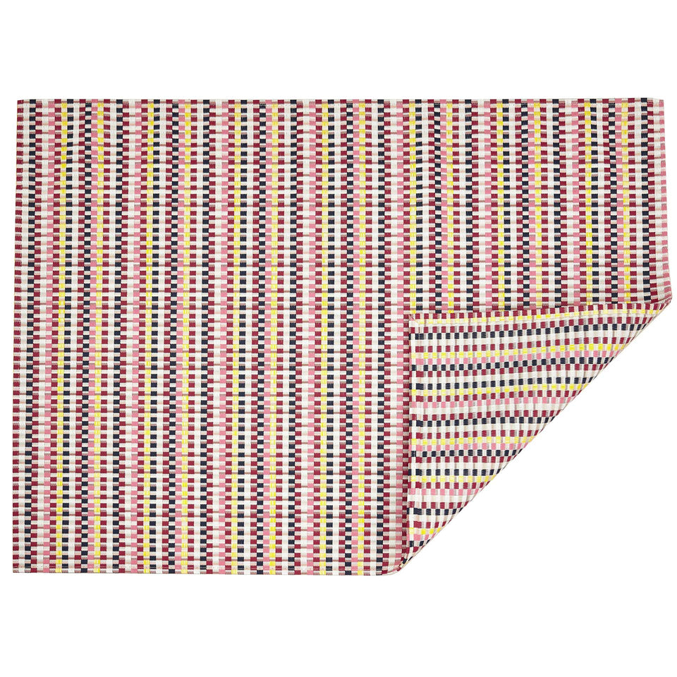 Pansy Heddle Woven Floor Mat by Chilewich