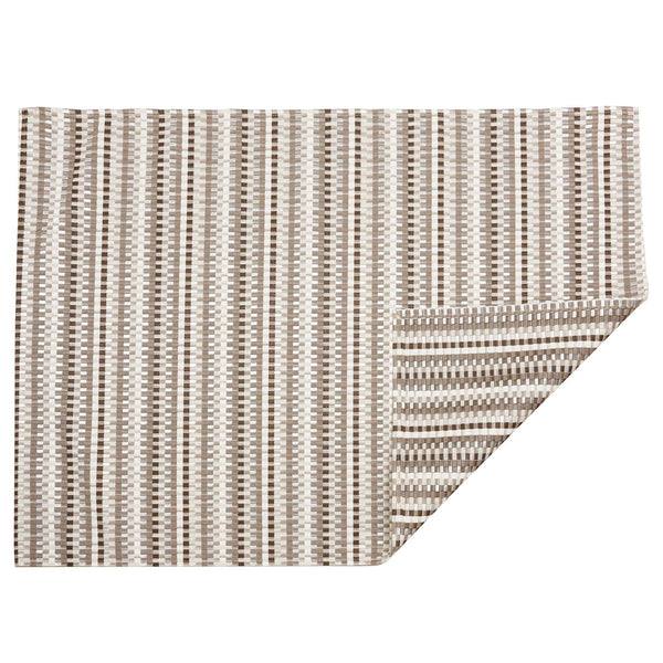 Pebble Heddle Woven Floor Mat by Chilewich