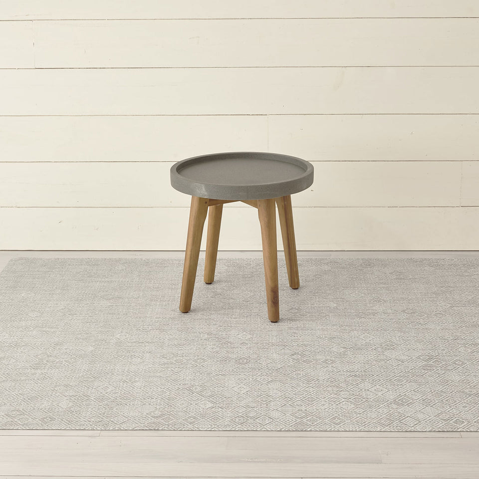 Grey Mosaic Woven Floor Mat by Chilewich