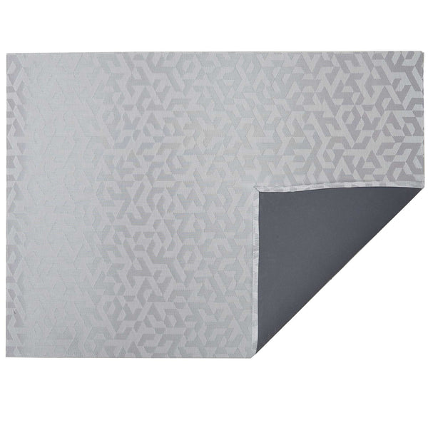 Silver Prism Woven Floor Mat by Chilewich