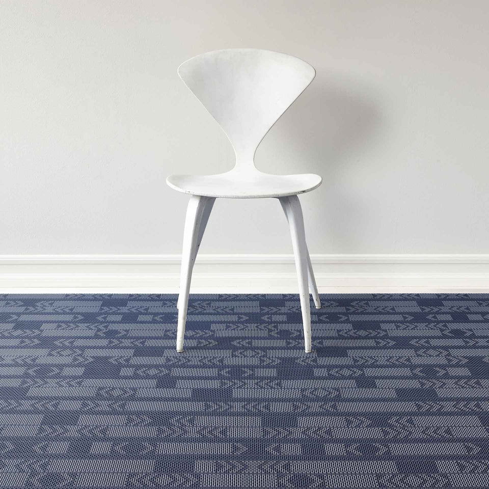 Midnight Scout Woven Floor Mat by Chilewich