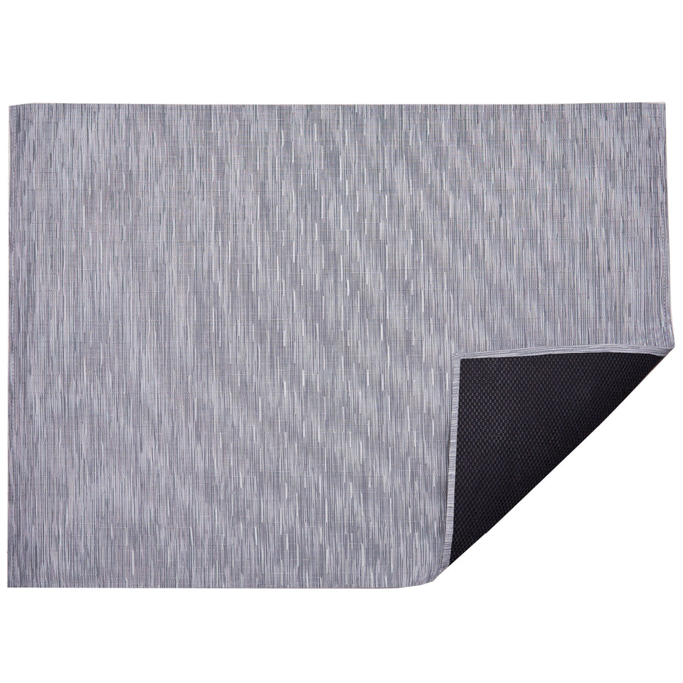 Fog Bamboo Woven Floor Mat by Chilewich