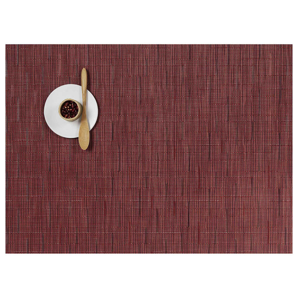 Cranberry Bamboo Placemats & Runner by Chilewich