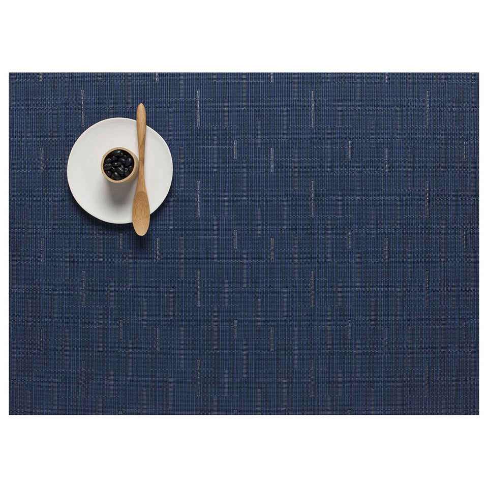 Lapis Bamboo Placemats & Runner by Chilewich