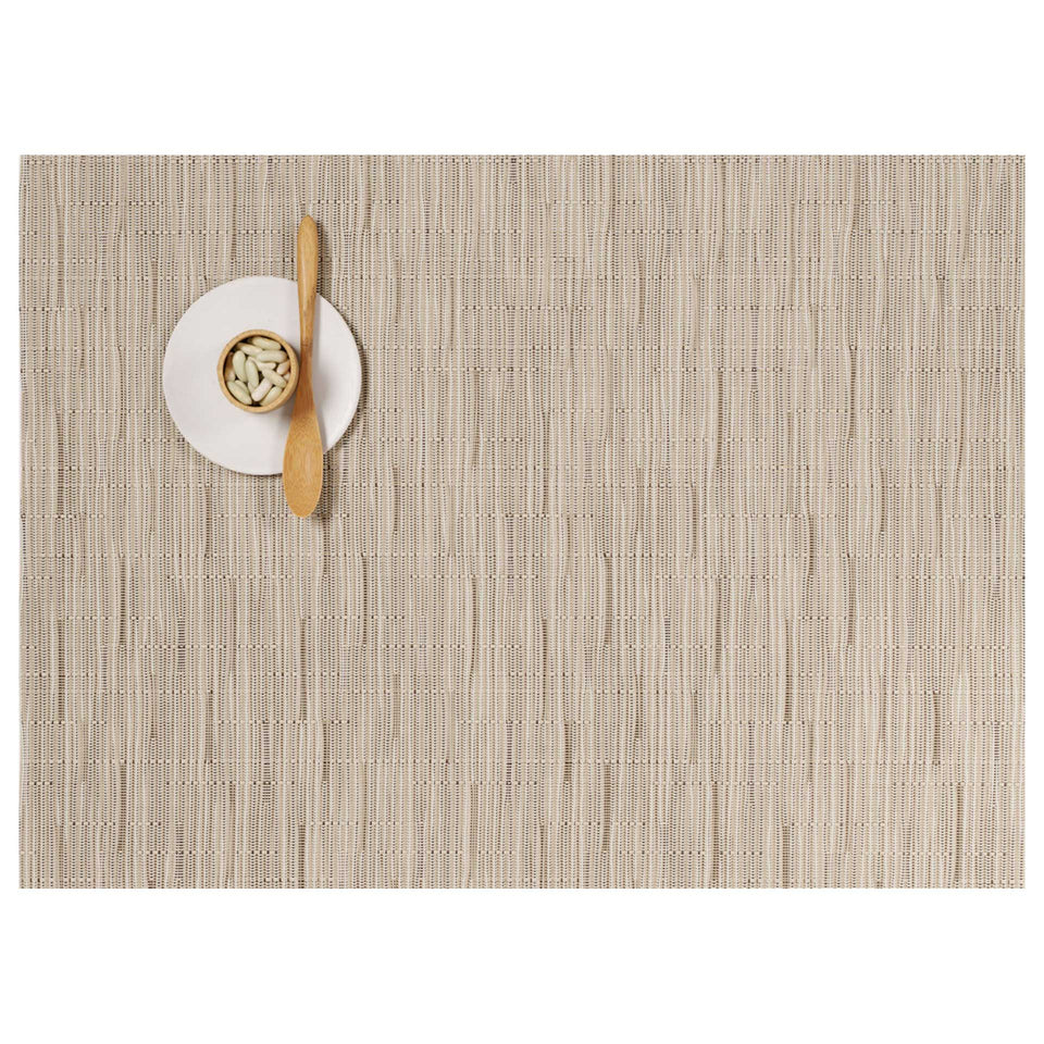 Oat Bamboo Placemats & Runner by Chilewich