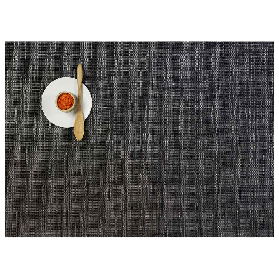 Smoke Bamboo Placemats & Runner by Chilewich
