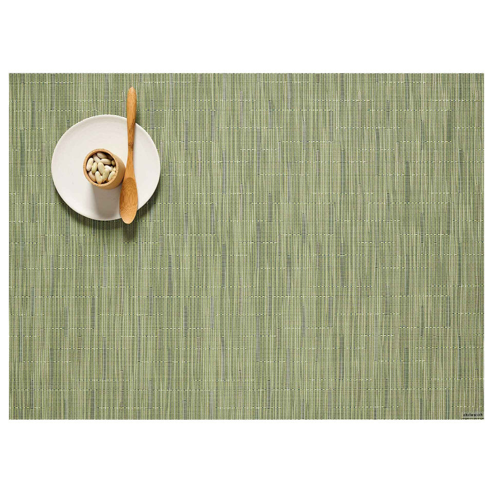 Spring Green Bamboo Placemats & Runner by Chilewich