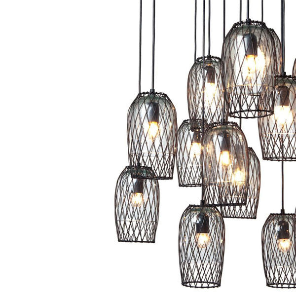 Constellation 16 Chandelier by Kenneth Cobonpue for Hive - Vertigo Home