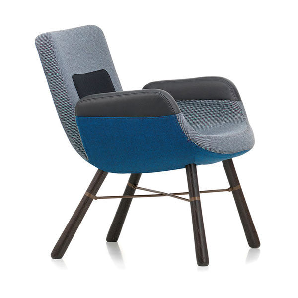 East River Chair Blue Mix 05 by Vitra + Hella Jongerius - Vertigo Home
