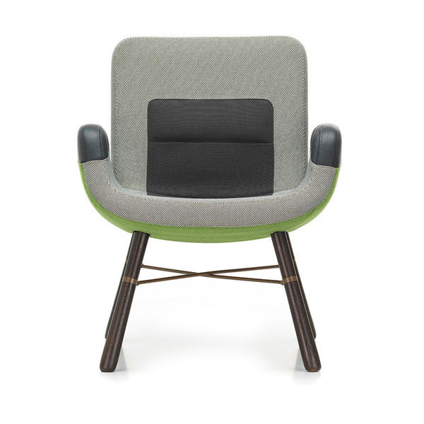 East River Chair Green Mix 04 by Vitra + Hella Jongerius - Vertigo Home