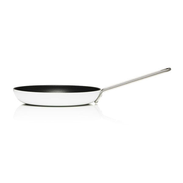 "Eva Trio 9.5"" (24 cm) White Line Frying Pan with Slip Let® - Vertigo Home"
